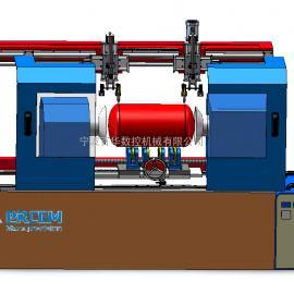 筒体封头自动焊机-管道法兰自动焊机