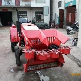 割台式玉米收割机图片|郑州能达(图)|两行割台式玉米收割机