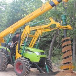 大功率 多功能农网改造挖坑立杆一体机设备价格图片厂家直销