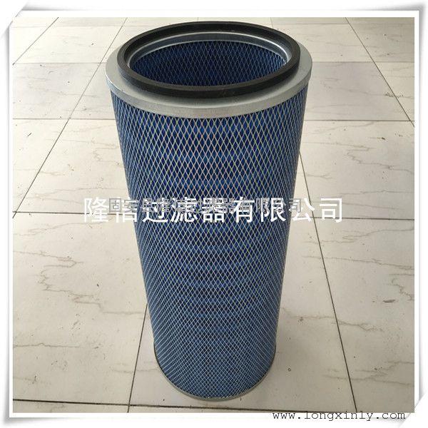 除尘器滤筒 代替美国唐纳森阻燃除尘滤筒 椭圆形滤筒