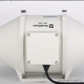 HF-100P鸿冠4寸圆形静音管道风机厂家供应