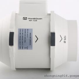 HF-125P鸿冠5寸静音管道风机厂家供应