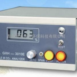 供应公共场所监测GXH-3010E便携式红外线CO2分析仪