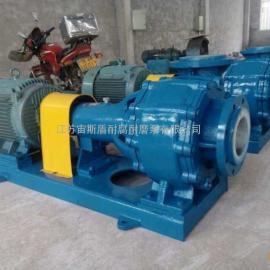 大型化工污水泵 耐腐�g耐磨污泥排出泵 300口�缴�{泵