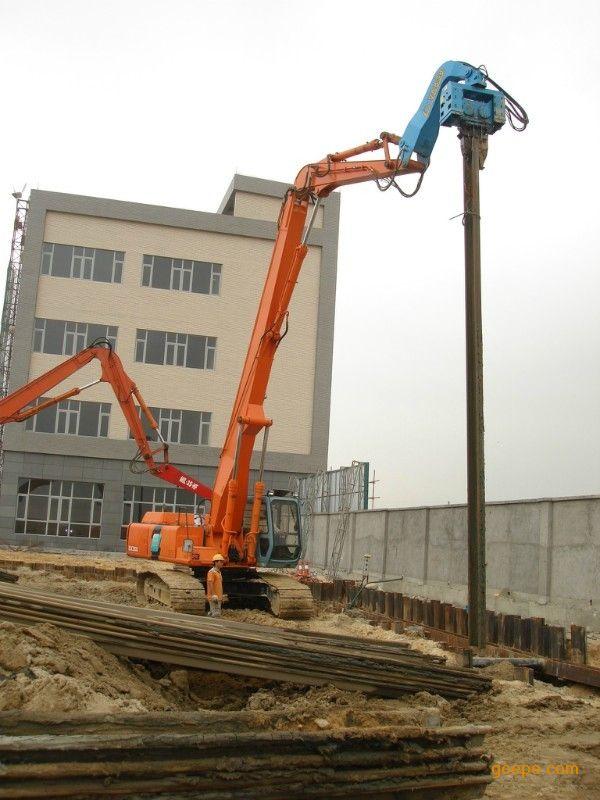 桩工机械 广州市汇通机械有限公司 产品展示 挖掘机加长臂 >> 挖掘机