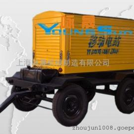 75kw拖车静音型柴油发电机