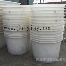 圆形腌制桶 500升腌制榨菜塑料桶价格