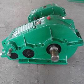 泰兴ZQD400卧式渐开线圆柱齿轮减速机,齿轮合金钢经渗碳淬火而成