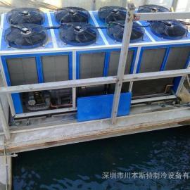 白灰拌站凉水系统(箱型风冷式螺杆凉水机)利用案例