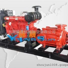 柴油机自吸排污泵 柴油机市政排水泵