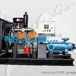 柴油机式排污泵 柴油机式自吸排污泵