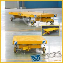 托盘搬运用帕菲特搬运工程车平板拖车平板拉货拖车