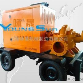 移动泵车 防汛抗旱拖车水泵