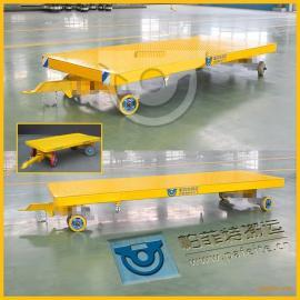 车间用平板拖车帕菲特搬运工程车平板拖车平板拉货拖车