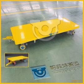 工厂工件运输厂家定制直销工程车平板拖车平板拉货拖车