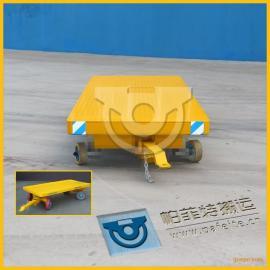 工厂工件运输帕菲特搬运工程车平板拖车平板拉货拖车