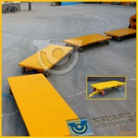 机械产品运输厂家定制直销工程车平板拖车平板拉货拖车