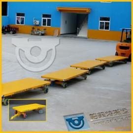轻工业产业运输专用厂家定制直销工程车平板拖车平板拉货拖车