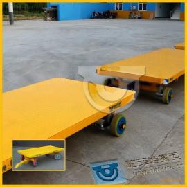 托盘搬运用厂家定制直销平板拖车拉货平板牵引车