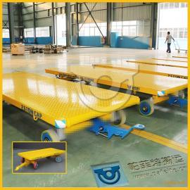 工厂工件运输厂家定制直销平板拖车拉货平板牵引车