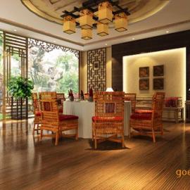 生态园酒店设计、山东生态餐厅设计、生态酒店施工