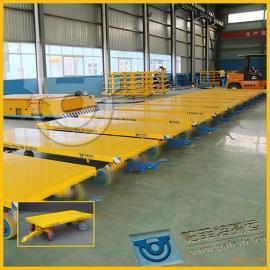 化工设备运输用厂家定制直销平板拖车拉货平板牵引车