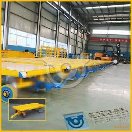 物流工件运输用厂家定制直销平板拖车拉货平板牵引车