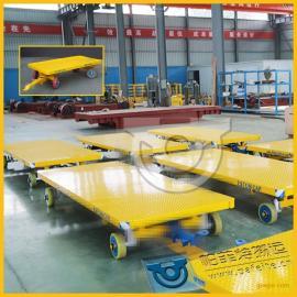 厂区工件运输用厂家定制直销平板拖车拉货平板牵引车