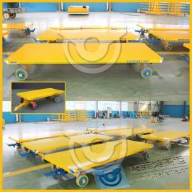 机械产品运输厂家定制直销平板拖车拉货平板牵引车