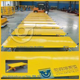 轻工业产业运输专用厂家定制直销平板拖车拉货平板牵引车