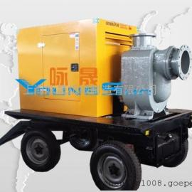 移动泵车 柴油机水泵