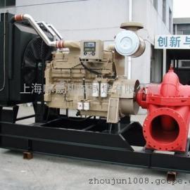 双吸柴油机离心泵