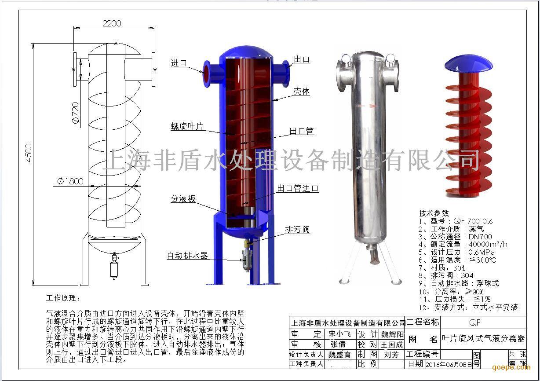 上海非盾水处理设备制造有限公司,坐落于国际化大都市-上海!公司主要加工生产销售:水处理设备、疏水自动加压器、冷凝水回收装置、汽水分离器、气液分离器、水锤消除器、旋流除砂器,全自动自清洗过滤器、角式反冲洗排污过滤器、电动过滤器、管道过滤器、静态混合器、汽水混合器、液控阀门、真空阀门、不锈钢阀门、电动阀门、紫外线消毒器、无负压供水设备、稳流罐等产品! 上海非盾水处理设备制造有限公司秉承诚信、专业、共赢的经营理念,坚持用户至上、质量第一,以科技服务客户,坚持技术进步、不断 创新、不断超越;以一流的技能、一流