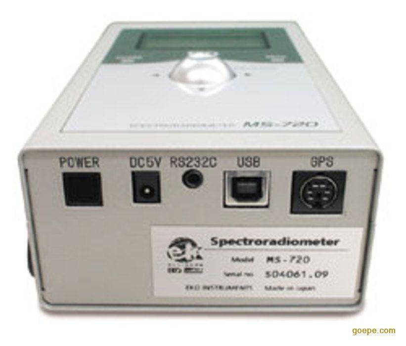 便携光谱表MS-720,光谱辐射计