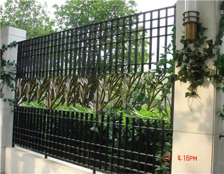 铁艺展示围墙设计
