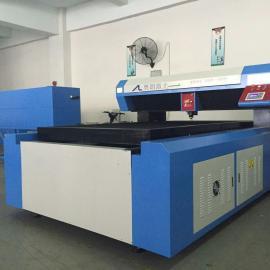 高精密产品400瓦AL-1218相框单头激光刀模切割机
