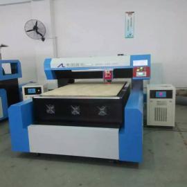 全国首创AL-1218密度板400瓦单头激光刀模切割机