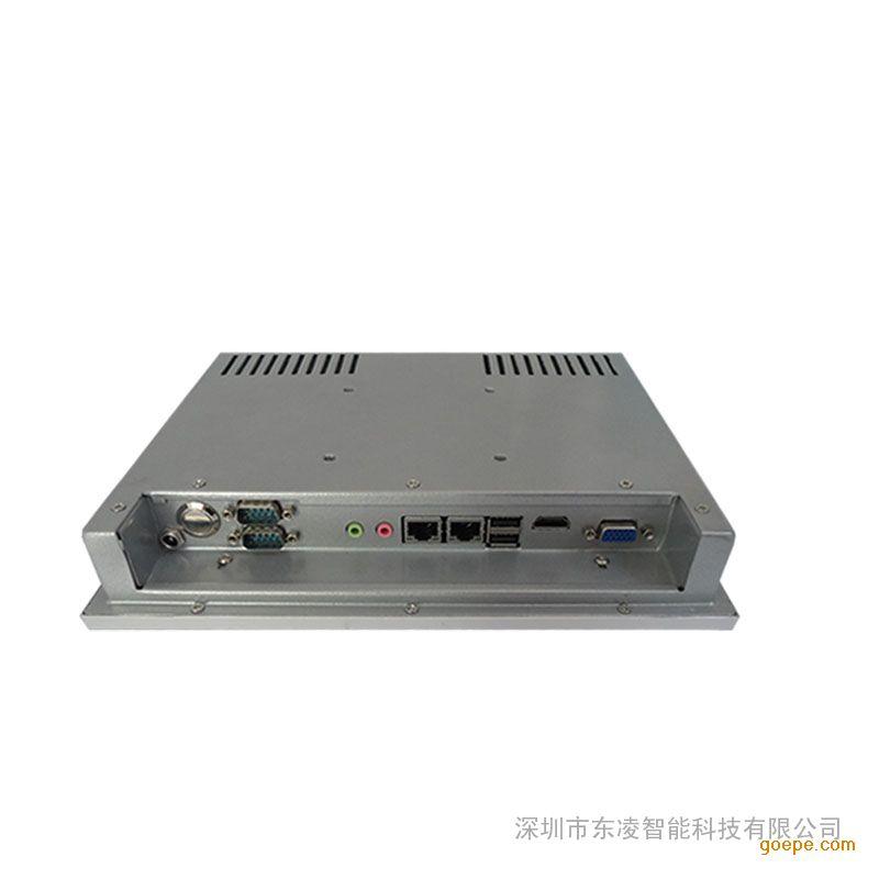 工控电脑一体机10.4寸嵌入式无线缆工业一体机
