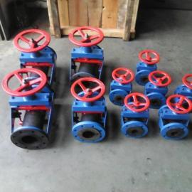 ZSX-S开体式管夹阀 上海ZSX-S开体式管夹阀