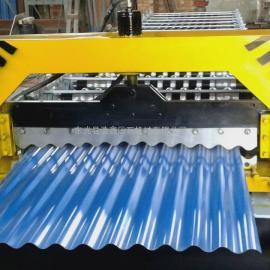 浩鑫供应850型全自动水波纹压瓦机彩钢压瓦机