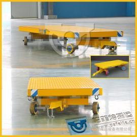 宁波力隆专用牵引平板拖车