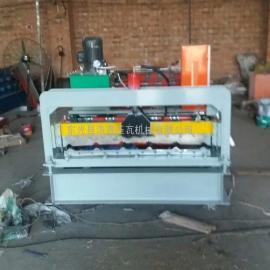 浩鑫860型全自动彩钢压瓦机