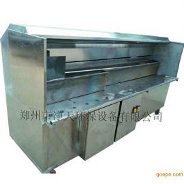 不锈钢无烟烧烤炉车厂家直销丨河南净天环保设备
