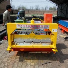浩鑫900型全自动彩钢压瓦机单板压瓦机