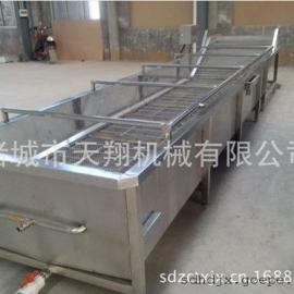 供应天翔连续式解冻机|不锈钢冷冻食品加工设备