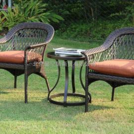 阳台桌椅组合,藤编桌椅,庭院桌椅