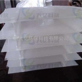 格尔木供应制药厂专用斜板填料、造纸厂废水处理用斜板填料