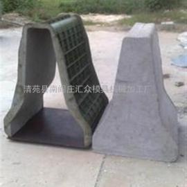 隔离墩钢模具、汇众模具、高效隔离墩钢模具