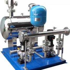 不锈刚恒压供水一控三变频泵小区供水机组泵