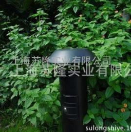 美国蓝犀牛H-X5不锈钢喷塑黑色草坪灯式灭蚊灯,捕蚊器